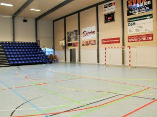 Trainingslager im Sportzentrum in Lügumkloster (Daenemark)